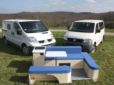 Kit amenagement trafic camping car for Amenagement interieur camping car