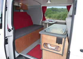 Kit amenagement camping car trafic l1h1 for Amenagement interieur camping car