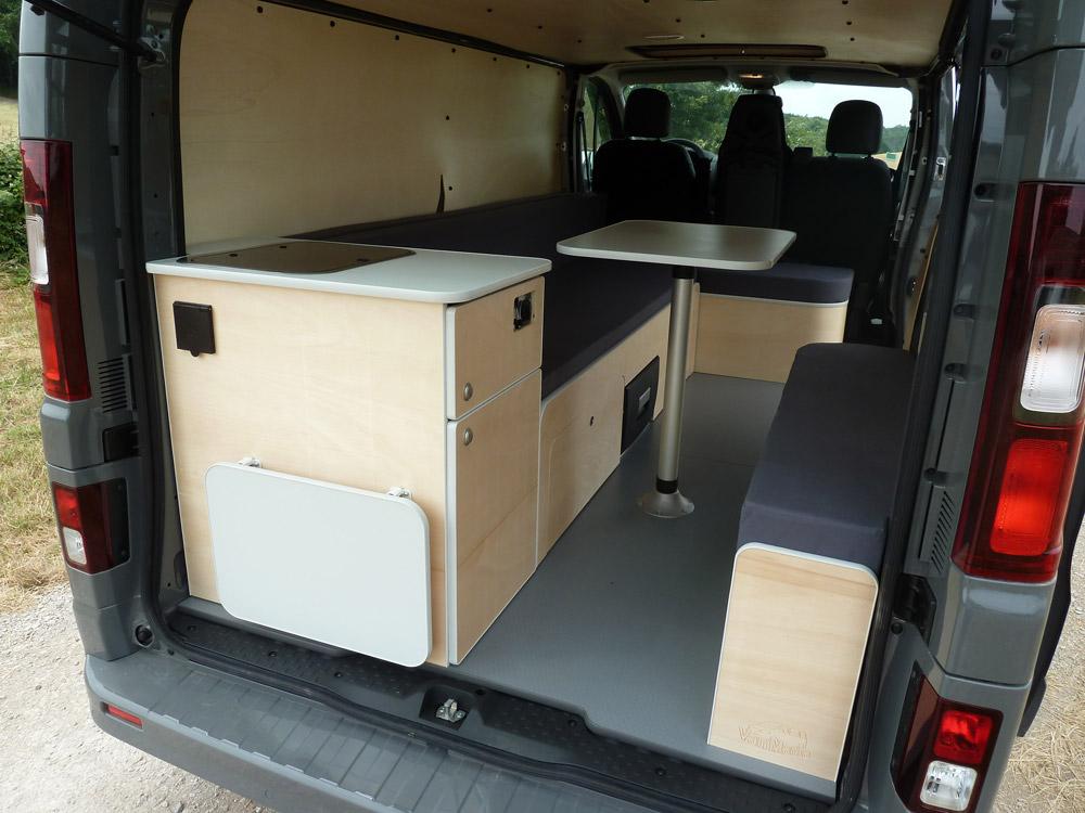 kit north sur trafic 3 long van mania. Black Bedroom Furniture Sets. Home Design Ideas